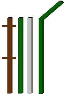 изготовление металлические столбы в Рязани