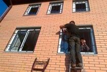 Монтаж решеток в Рязани